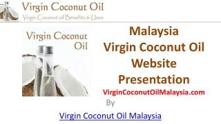 Malaysia Virgin Coconut Oil Website Presentation