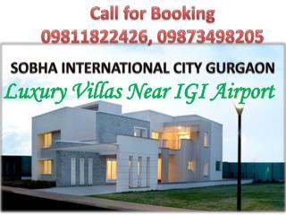 sobha villas gurgaon ||9811822426|| sobha international city