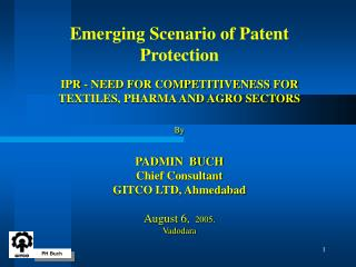 PATENT AWARENESS …...