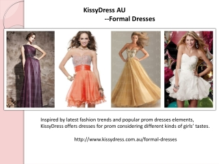 KissyDress's Formal Dresses Online Store
