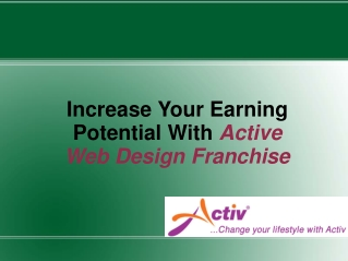 Active Web Design Franchise | Active Franchise