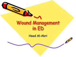 Wound  Management in ED