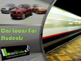 Auto Loans For Students Proves To Be Best Deal!!