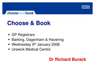 Choose & Book