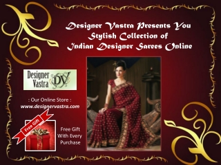Exclusive Indian Designer Sarees Collection