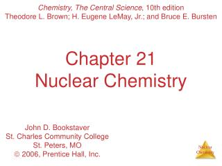 Chapter 21 Nuclear Chemistry