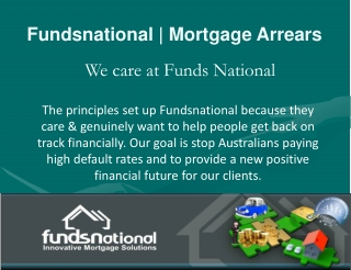 FundsNational| Mortgage Arrears