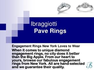 Pave rings at ibraggiotti