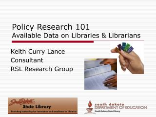 Policy Research 101 Available Data on Libraries  Librarians
