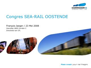 Congres SEA-RAIL OOSTENDE