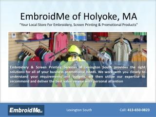 Embroidery Holyoke