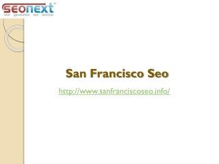Seo San Francisco