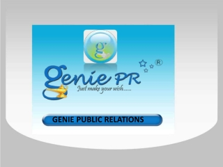 Genie Public Relations Agency Delhi