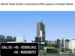 wtc greater noida commercial office spaces@9650268727