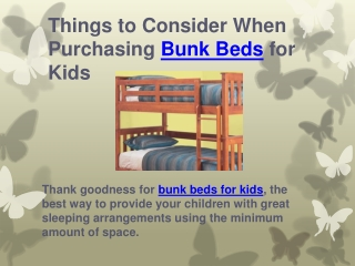 Things to Consider When Purchasing Bunk Beds for Kids | Be