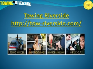 Towing Riverside
