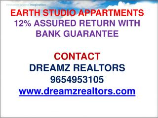 earth studio appartments,noida,call 9654953105,9654953152