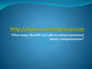 What steps should you take to ensure compensation?