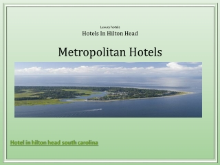 Hotel in hilton head south carolina