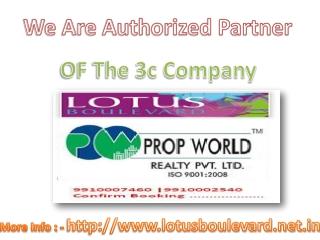 Lotus Boulevard Noida 9910007460 3c Lotus Boulevard Sec 100