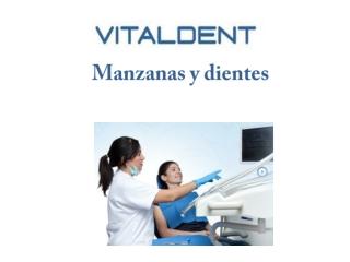Clínica Vitaldent Castro Urdiales: manzanas y dientes