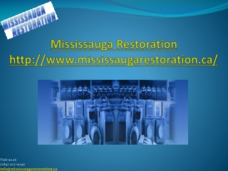 Wet Basement Restoration