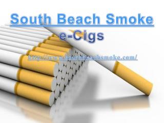 South Beach Smoke e-Cigs