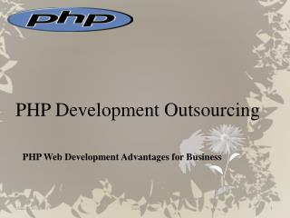 php web development advantages for business