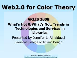 Web2.0 for Color Theory