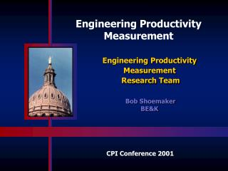 Engineering Productivity Measurement