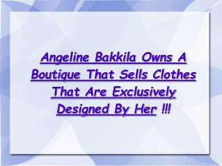 angeline bakkila owns a boutique