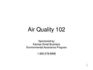 Air Quality 102