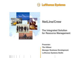 NetLineCrew The Integrated Solution for Resource ...