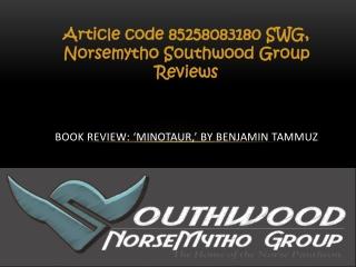 Article code 85258083180 SWG, Norsemytho Southwood Group Rev