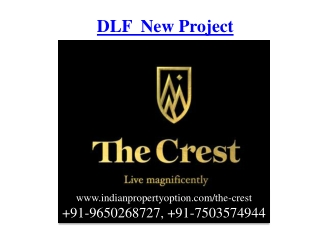 DLF New Project Gurgaon Call 9650268727