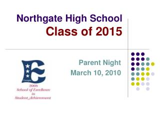 Northgate High School Class of 2015