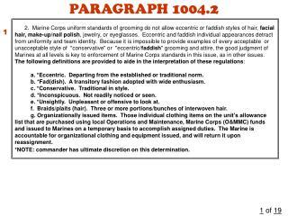 PARAGRAPH 1004.2