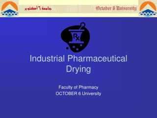 Industrial Pharmaceutical  Drying