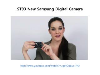st93 new samsung digital camera review
