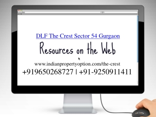 DLF Crest Sector 54 Gurgaon Call 9650268727