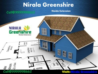 Nirala Greenshire, Offers Beautiful Life Style In Noida Exte