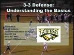 3-3 Defense: Understanding the Basics