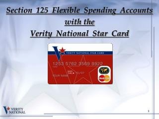 Section 125 Flexible Spending Accounts