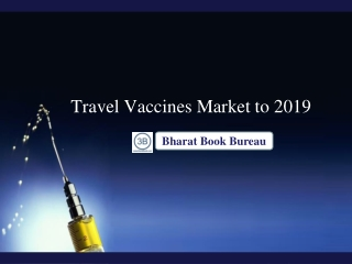 Travel Vaccines Market to 2019 - Hepatitis A, Japanese Encep