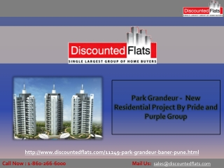 New Project by Pride and purple Group – Park Grandeur
