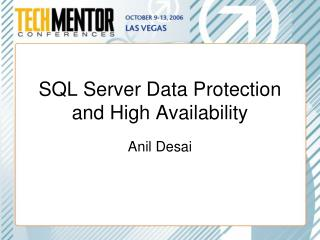 SQL Server Data Protection and High Availability