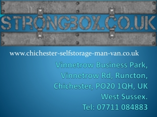 Chichester Business Storage Solutions - Stock