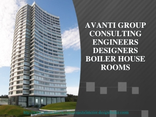 Heizungsraum, avanti group consulting engineers