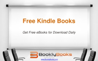 Free Kindle Books – Get Free eBooks for Download Daily