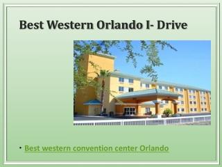 Best western convention center orlando